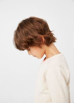 Basic pamut pulóver - Fiú   MANGO Kids Magyarország