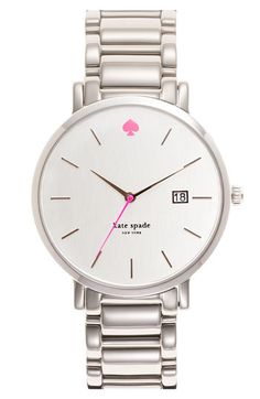 kate spade new york gramercy grand bracelet watch, 38mm available at #Nordstrom