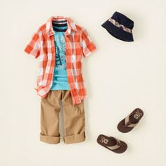 This is gonna be one of his outfits this summer!