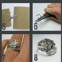 Spoon Ring, im doing this how awesome!!