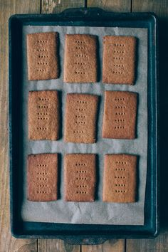 Nothing but Delicious - Sorghum Buttermilk Graham Crackers