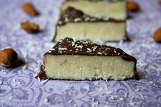 Paleo Coconut Secret Bars/Homemade Healthy Mounds > [sometimes i feel like a nut!  sometimes i don't!...almond joys got nuts!- mounds don't!] ----now, you can read it again, but this time, sing the song....:-) Nava can't wait to taste this!