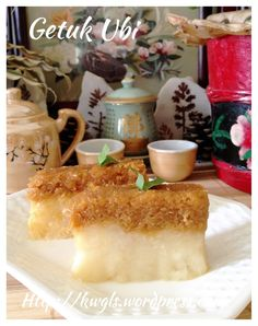 Getuk Ubi (Cassava Coconut cake 木薯椰丝糕  #guaishushu #kenneth_goh  #getuk_ubi  #木薯椰丝糕