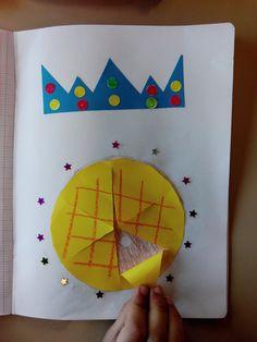 Illustration sur la galette !