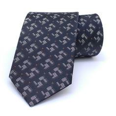 """Dark brown, beige, brown dotted men's tie 7 cm (2,76"""") SL-474. Brown, beige dotted men's necktie SL-474 Width : 7 cm (2,76"""") Length : 150 cm (59,06"""")."""