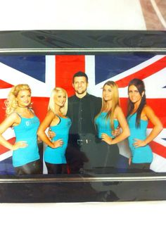 Chelsea Wheatley : ring girls for mr Carl froch