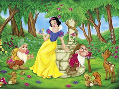 Snow White and the Seven Dwarfs Disney Wallpapers) – Funny Pictures Crazy