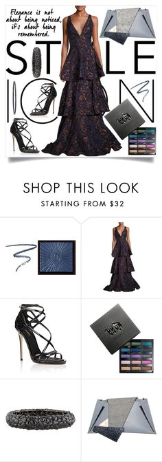 """""""I'm just looking for a good night out."""" by fia-sim-77 ❤ liked on Polyvore featuring Charlotte Tilbury, Badgley Mischka, Dolce&Gabbana, Urban Decay, Lorraine Schwartz, Georgina Skalidi, RedCarpet, blackdiamonds, styleicon and BadgelyMischka"""