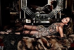 Photograph by Mario Testino. Styled by Jessica Diehl.