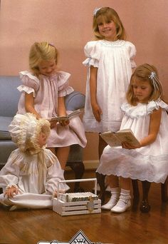 Bishops And Bonnets Girls Dress Pattern by Chery by ThimbleWings, $10.00