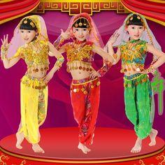 meninas da moda de roupas infantis roupas 2014 indiana fantasias para crianças crianças trajes dança do ventre-Desgaste de Desempenho-ID do produto:60129945492-portuguese.alibaba.com