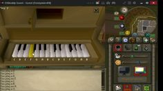 Through The fire and the Flames Runescape 2007 Piano Edition?!?!?