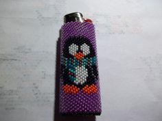 Purple Penguin Lighters