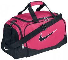Nike Duffel Bag--- great for XC and track Duffel Bags, Nike Duffle Bag, Backpack Bags, Nike Gym Bag, Nike Bags, Gym Bags, Nike Gear, Women's Bags, Nike Roses