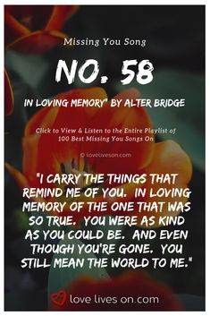 Are you missing someone special? Listen to our Ultimate Playlist of songs about missing someone, wanting someone, and about losing someone. Missing Someone In Heaven, Missing Someone Special, Missing You Songs, I Miss You, Love You, Miss You Images, Mending A Broken Heart, Alter Bridge, Losing Someone