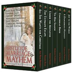 #Book Review of #MistletoeMarriageandMayhem from #ReadersFavorite - https://readersfavorite.com/book-review/mistletoe-marriage-and-mayhem  Reviewed by Melinda Hills for Readers' Favorite  Seven lovely young women are caught up in romantic exploits in Regency England during the Christmas holidays in Mistletoe, Marriage, and Mayhem: A Bluestocking Belles Collection by a group of wonderful historical romance writers. Each woman has a unique story regarding her place in a ri...