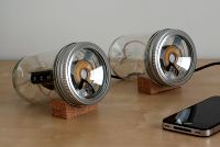 canning jar speakers!