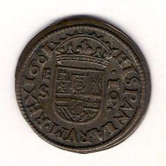16 Maravedis de Felipe IV de 1661, Segovia.