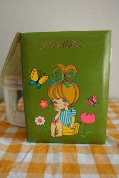 Cute 1970's Cutie Photo Album by brookaloo on Etsy, $8.00