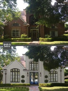 It's  important to have a door that is well designed, speaks to your personality and style, and sets the tone for the family inside. Bring your vision to life with a brick&batten virtual exterior design.  In 2019, the doors have become a hot topic.  From Dutch doors to iron doors, a grand entrance way is on trend!