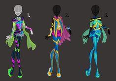 Bloomix Design Adoptables by PrettieAngel.deviantart.com on @deviantART