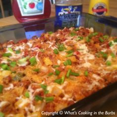Bacon Cheeseburger and Fries Casserole