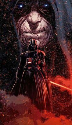Darth Vader Star Wars - Star Wars Siths - Ideas of Star Wars Siths - Darth Vader Star Wars Darth Vader Star Wars, Star Wars Jedi, Anakin Vader, Star Wars Fan Art, Star Wars Comics, Dc Comics, Cuadros Star Wars, Star Wars Images, Star Wars Wallpaper