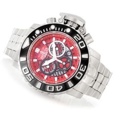 Invicta 58mm Sea Hunter Gen II Swiss Made Quartz Chronograph Bracelet Watch w/ Eight-Slot Dive Case