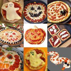 Pizza ragnatela / Spider Pizza (Halloween topping ideas) | Weird ...