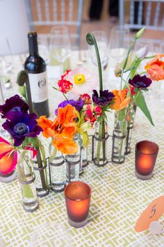 Citrus-Colored Celebration For Blue Oak Academy — Marilyn Ambra Party Consultants Wedding Tips, Wedding Events, Our Wedding, La Tavola Linen, Centerpieces, Table Decorations, Floral Wedding, Fundraising, Special Events