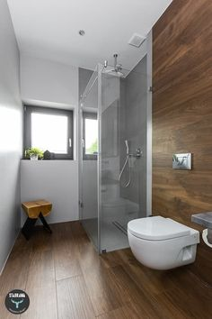 skandinavische Badezimmer von stabrawa.pl
