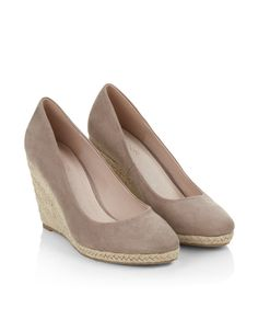 "Monsoon ""Fleur"" Espadrille Wedges - $79"