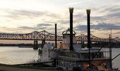 City of Natchez nel Mississippi