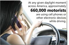 Be careful out there. #safety #distracteddriving