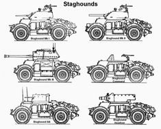 We'll let the tracks a little aside and see some armored vehicles on wheels. Army Vehicles, Armored Vehicles, Rock Island Arsenal, Army Usa, Canadian Army, Sherman Tank, Heavy And Light, Ww2 Tanks, Military Equipment