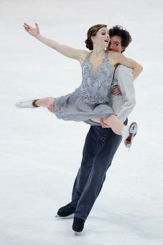 Alexandra Paul and Mitchell Islam (Photo by Dennis Grombkowski/Bongarts/Getty Images)