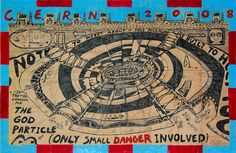 Born with autism in Ohio in 1962, George Widener is a more recent outsider art discovery. A gifted savant, Widener makes intricate maps and charts based on facts and trivia stored in his computer-like mind.