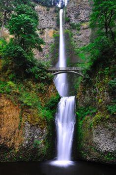 Multnomah Falls - De 10 meest surrealistische plekken van Amerika - Nieuws - Lifestyle