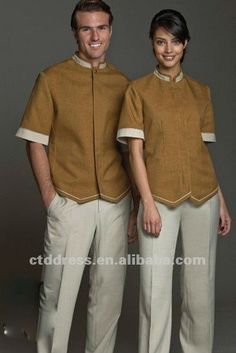 New style Wool SPA uniform spa dress by CTD $76~$95
