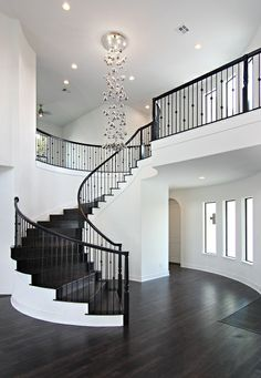nice house interior dream homes Dream House Interior, Luxury Homes Dream Houses, Dream Home Design, Modern House Design, My Dream Home, Modern Home Interior Design, Mansion Interior, Beautiful Houses Interior, Staircase Design