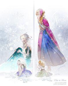 Frozen                        - frozen Fan Art            This is cool