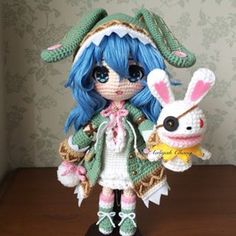 Taiwan crochet doll maker ♡ More