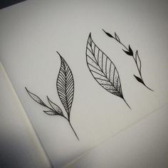 Image result for small leaf tattoo