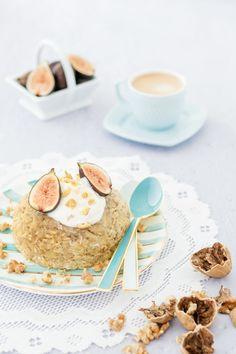 Bowl cake aux figues et aux noix Photographie et stylisme culinaire : Hubert Cormier