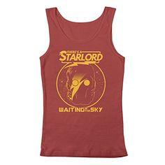 David Bowie Starman, Marvel Gifts, Star Lord, Guardians Of The Galaxy, Tank Man, Geek Stuff, Tank Tops, Stuff To Buy, Clothes