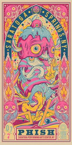 35 Stunning Gig Poster Designs   From up North