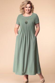 Dress Romanovich style turquoise tones girly outfits girly outfits ideas girly out. Trendy Dresses, Plus Size Dresses, Casual Dresses, Summer Dresses, Fashion 60s, Fashion Dresses, Fashion Clothes, Korean Fashion, Covet Fashion