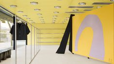 Acne Studios creates very yellow interior for West Hollywood store