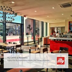 Introducing our brand new illy CAFFÈ in Maranello, inside the Museo Ferrari. Come visit us!