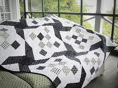 Image result for black and white quilts
